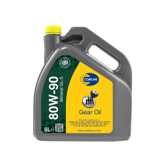 CO80W90GL51 - HIGH PERFORMANCE GEAR OIL 80W90 GL5  12x1Lit.