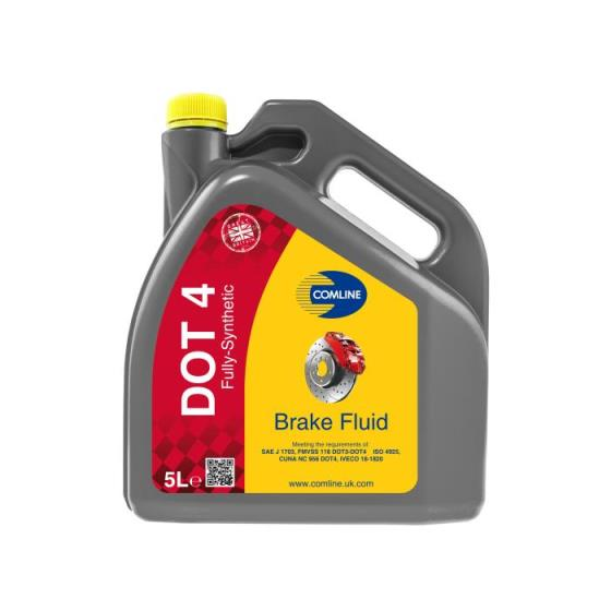 HIGH PERFORMANCE BRAKE FLUID DOT 4  12x1Lit.